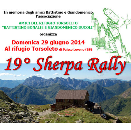Sherpa Rally 2014